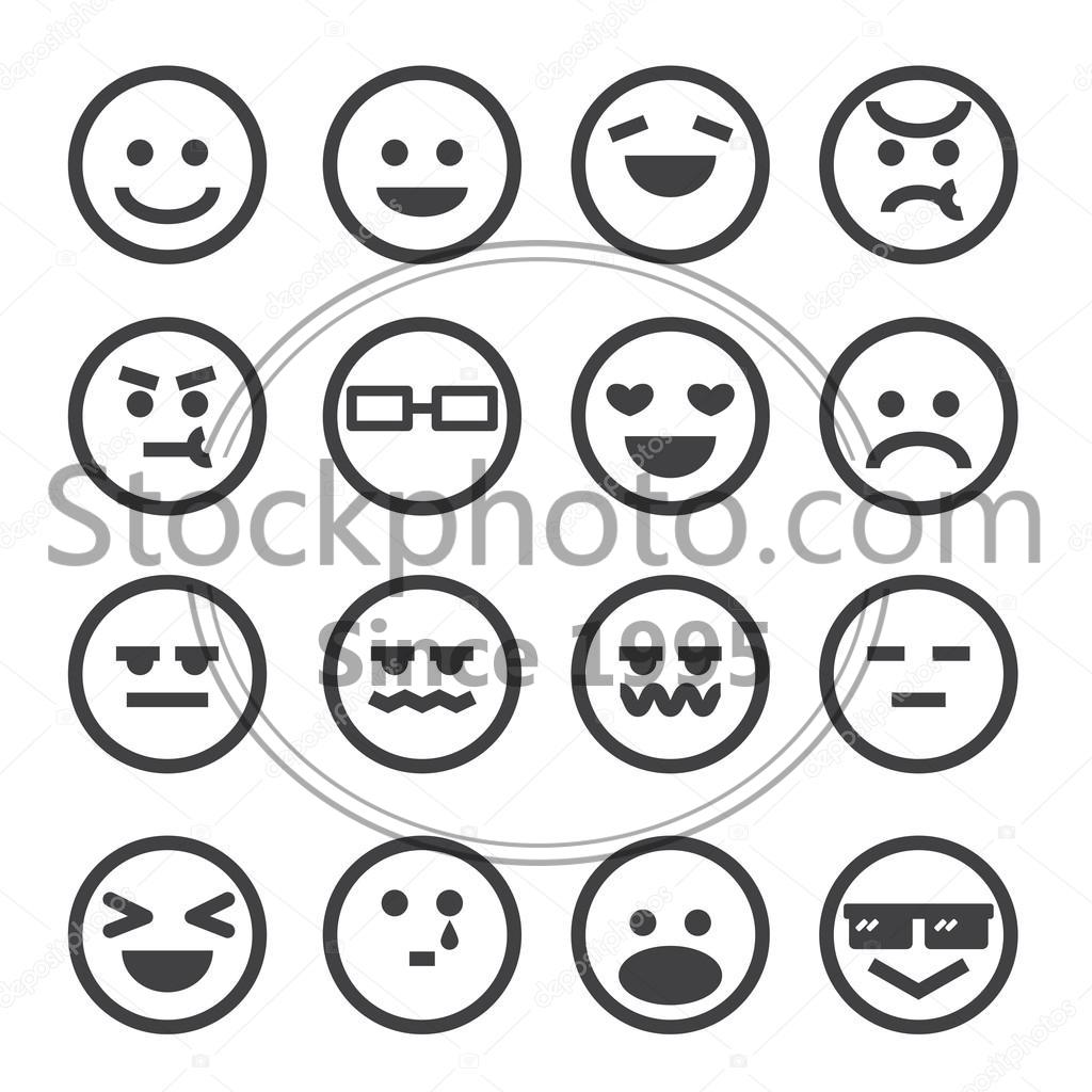 stock photos human emotion icon human emotion icon stock photo