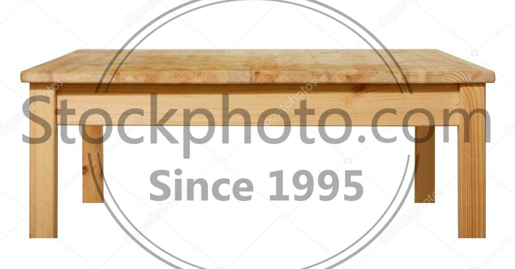 Stock photo of table - Table isolated